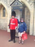 Changing of the guard at Windsor Castle