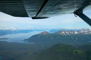 Then we took a totally awe-inspiring plane ride