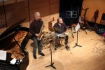 Tobias Beale (sax), Murray Brown (piano) and drummer