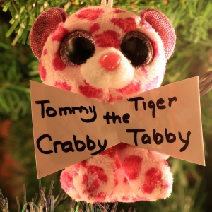 Tommy Tiger The Crabby Tabby DeLong