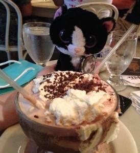 Frozen hot chocolate, New York City