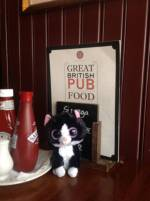 Our first pub meal
