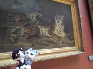 Louis & Clarke in the Louvre