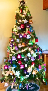 Tuxedo Stan's 2014 Tree of Hope with 150 ornaments!