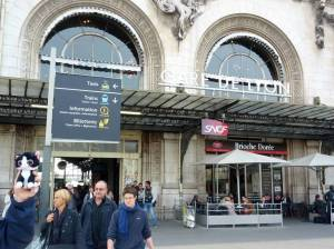 Gare de Lyon in Paris, France by Sandra Forward-Warner