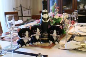 A champagne fit for a tux!