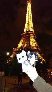 Louis & Clark  at the Eiffel Tower