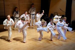 Chimo Taekwondo kids