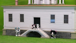 Minions on the doorstep