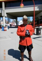 RCMP honour guard in Calgary by Terry Keelan