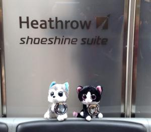 Hanging out at Heathrow Airport, England