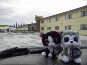 Talbot Arm Motel, Destruction Bay, Yukon Territory