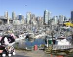 Burrard Street Bridge, Yaletown and Granville Island, Vancouver