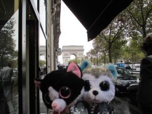 Louis & Clark in Paris