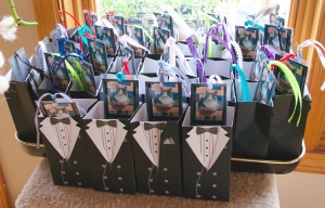 everyone received a Tuxedo Party gift box as they left Catopia.