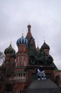 Dimitry at the Kremlin
